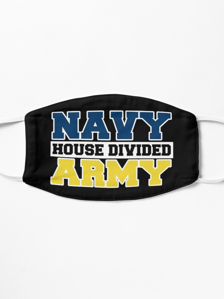 Alternate view of Navy House Divided Army Mask