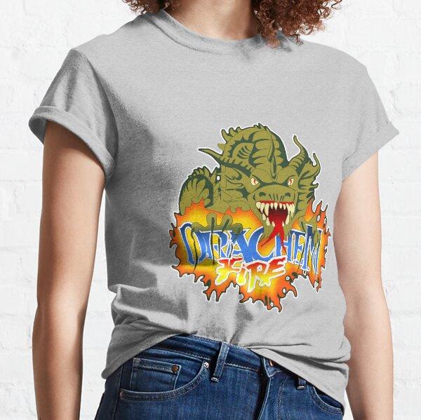 Drachen Fire Logo Design Classic T-Shirt