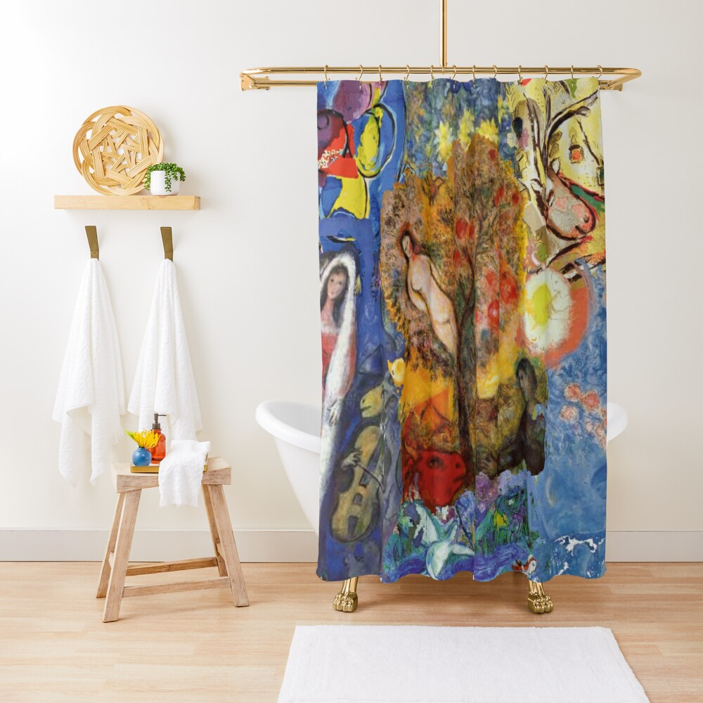 Chagall Shower Curtain