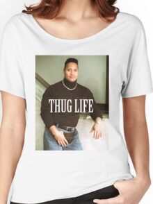 Throwback - Dwayne Johnson Women's Relaxed Fit T-Shirt