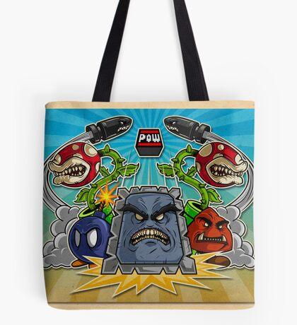 8-Bit Nightmare Tote Bag