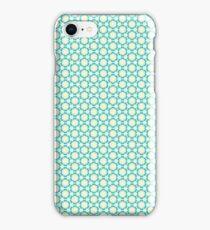 Vintage Blue Floral iPhone Case/Skin