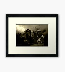 Knights Of Ironfest Framed Print