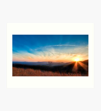 Appalachian Sunset Art Print