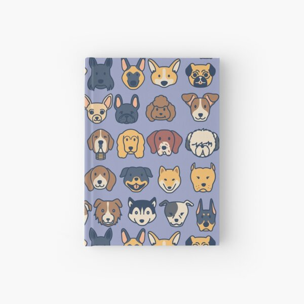 Doggos - Blue Hardcover Journal