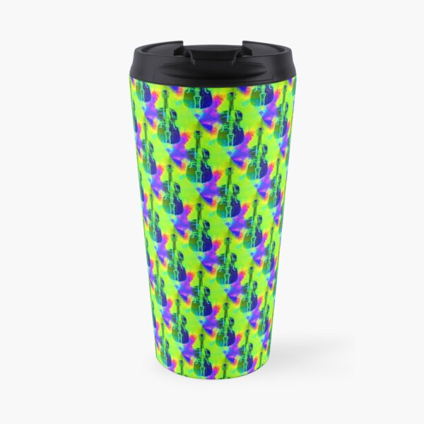 Violins with a colorful background Travel Mug