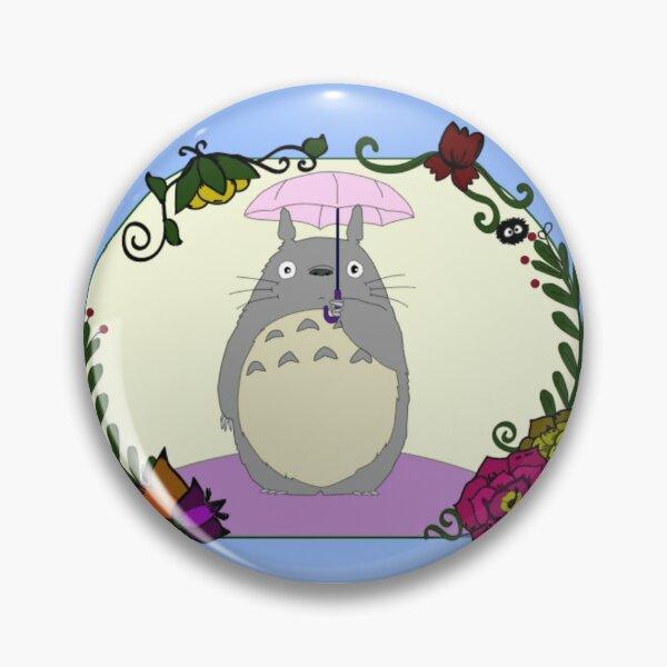 Totoro Wreath  Pin