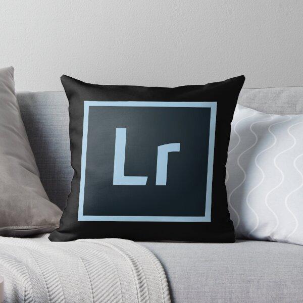 Adobe lightroom cc logo Throw Pillow