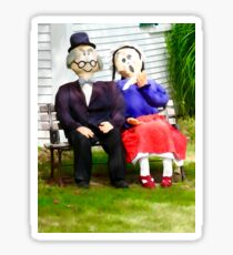 Love growing old with you Sticker