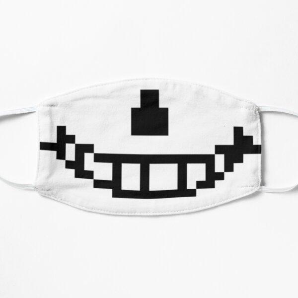 Sans (Undertale) Pixel Smile Mascarilla Mascarilla