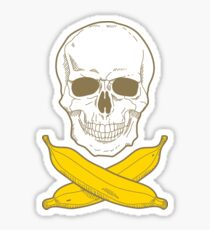 Banana Pirate Sticker