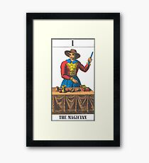 The Magician Tarot Framed Print