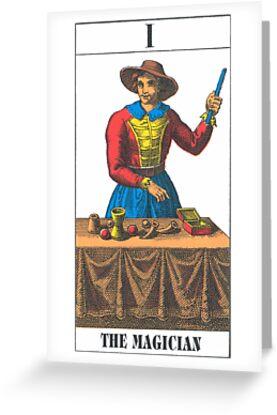 The Magician Tarot by babydollchic