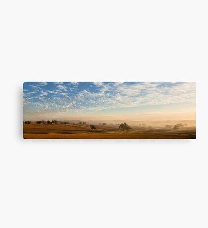 Smokey Sunset #2 ~ Cootamundra (NSW) Canvas Print
