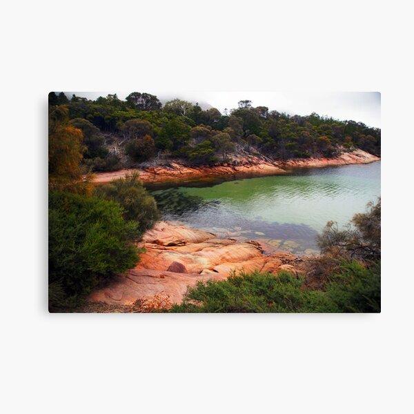 Beautiful Tasmania - the cove at Freycinet Lodge Canvas Print