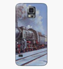 German loco in snow. Case/Skin for Samsung Galaxy