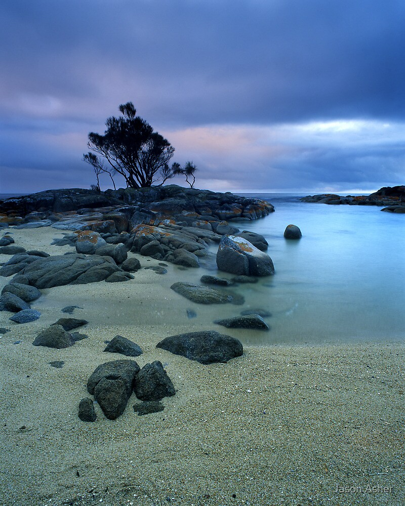 """Presence"" ∞ Binalong Bay, Tasmania - Australia by Jason Asher"