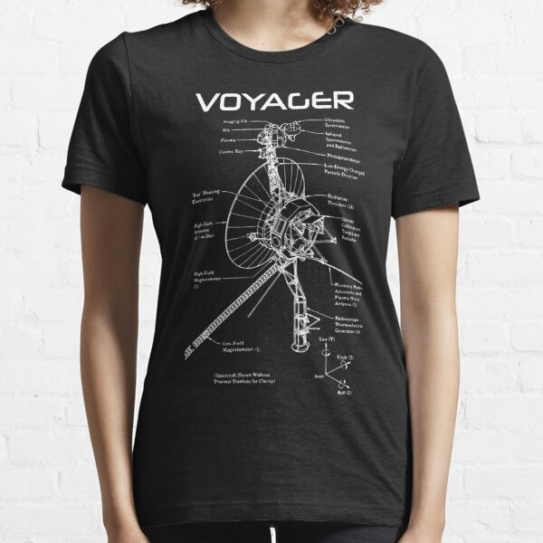 Voyager Program - White Ink Essential T-Shirt