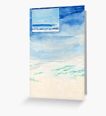 Surfing In Western Australia Greeting Card