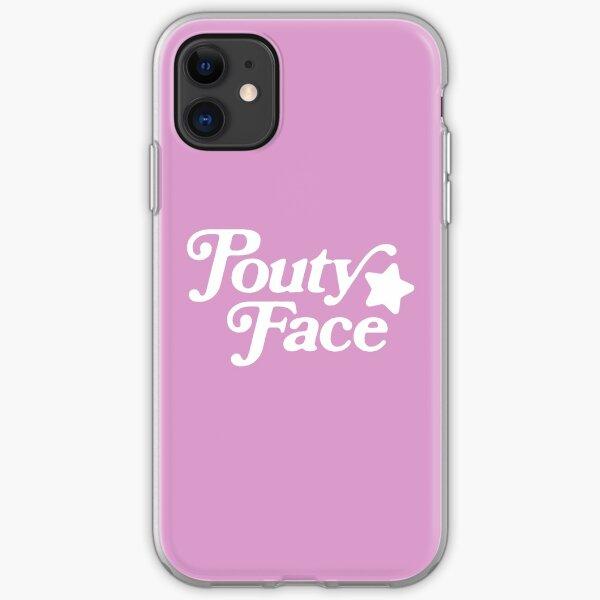 Pouty Face iPhone Soft Case