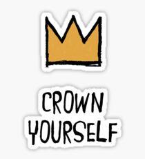 Crown Yourself Sticker
