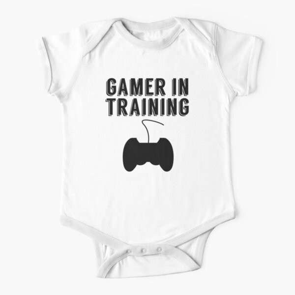 Gamer In Training Short Sleeve Baby One-Piece