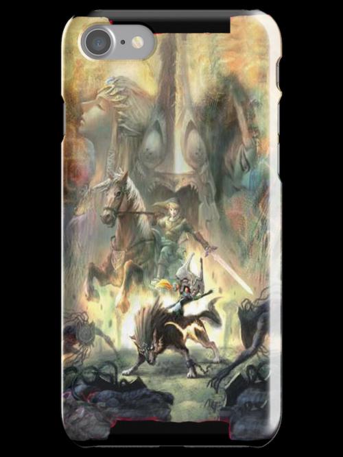 Zelda Character Design iPhone Case by TalkThatTalk