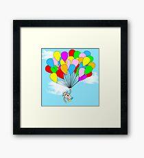 Balloon Robot Framed Print