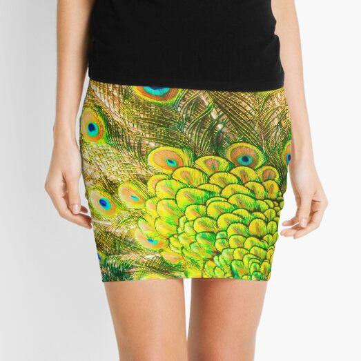Peacock eyes Mini Skirt