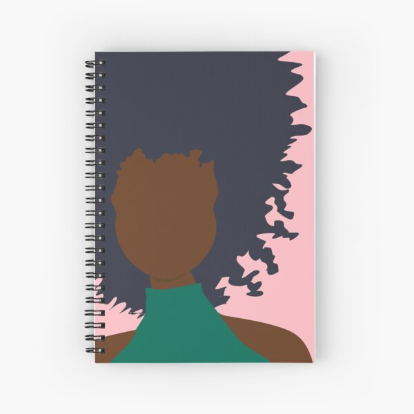 Thoughts of Pink Spiral Notebook