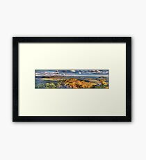 Far Horizons - Hargreaves Lookout - Blue Mountains World Heritage Area - The HDR Experience Framed Print
