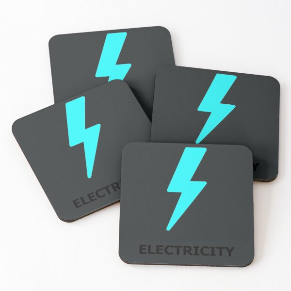 Electricity Coasters (Set of 4)