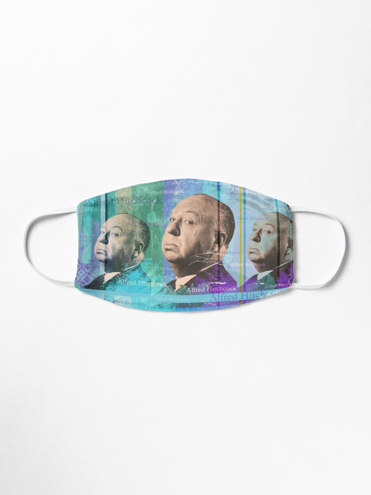 Alternate view of Alfred Hitchcock Mask