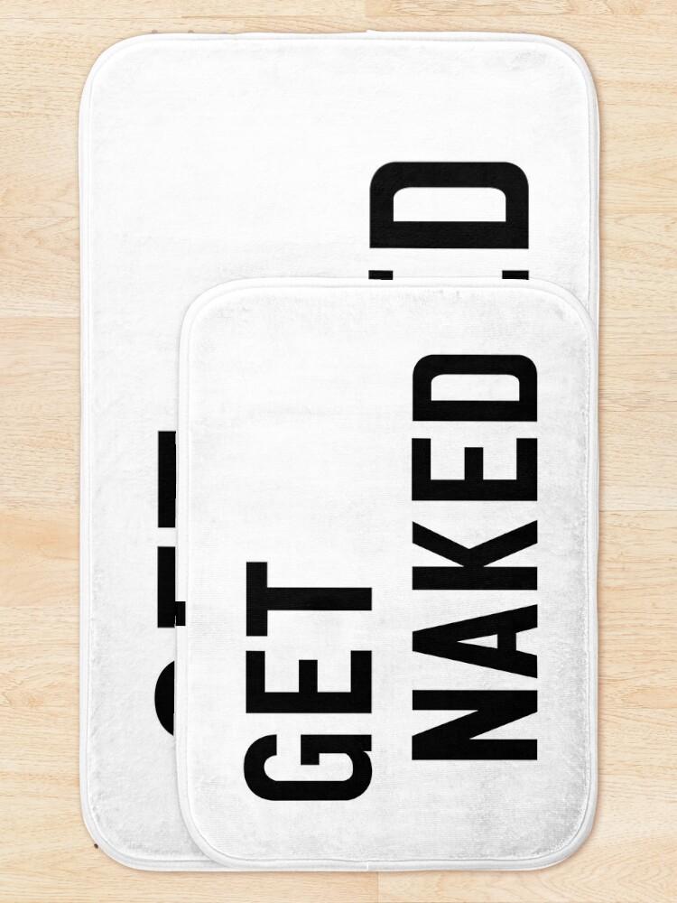 Alternate view of GET NAKED Bath Mat