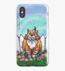 Animal Parade Ginger Cat iPhone Case/Skin