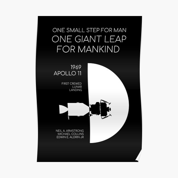 One small step for man... Poster