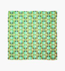 Happy Alien and Daisy Grunge Pattern Scarf