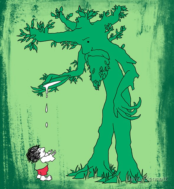 The Giving Treebeard on Lime by Jerry Bennett