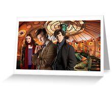 In the TARDIS Greeting Card