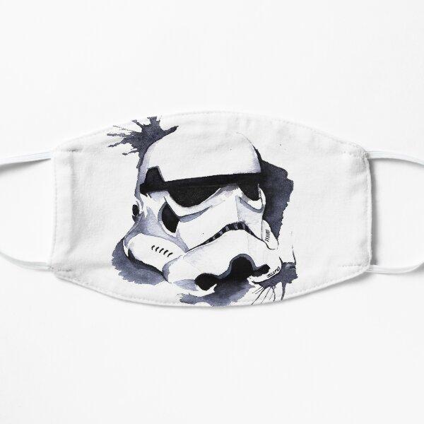 Trooper Space Wars Watercolor Flat Mask