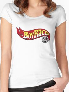 Boy Racer Women's Fitted Scoop T-Shirt