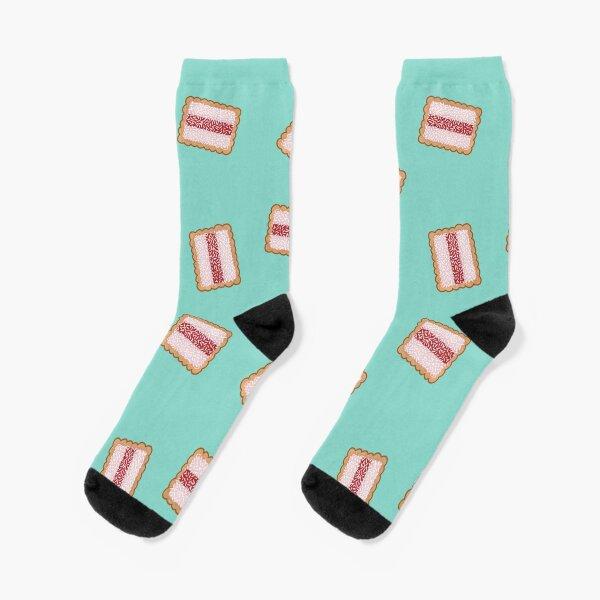Iced Vovo a Go-Go, Ditsy Aqua Socks