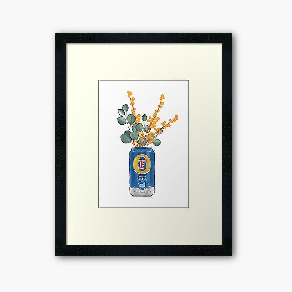 Flora of Fosters Framed Art Print