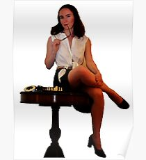 Geeky Pin-Up: Chess Poster