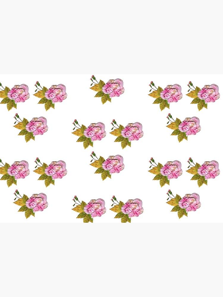 Pink Roses by LauraRepoOrtega