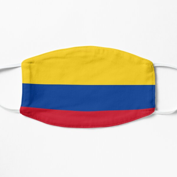 face mask flag of Colombia design pandemia virus Mask