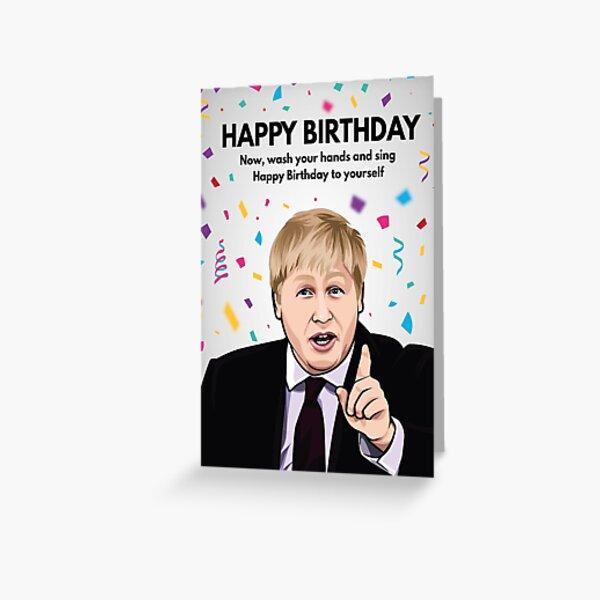 Funny Xmas Card Disastrous Brexit Political Christmas Card Boris Johnson