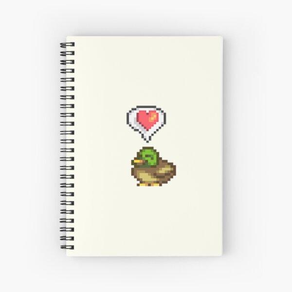 Stardew Valley Happy Duck  Spiral Notebook