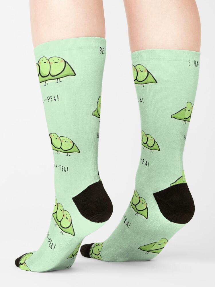 Alternate view of Be Ha-Pea!  Socks