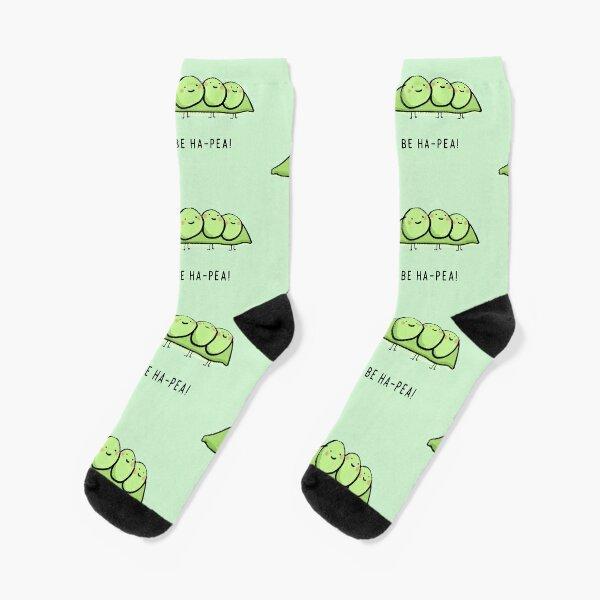 Be Ha-Pea!  Socks